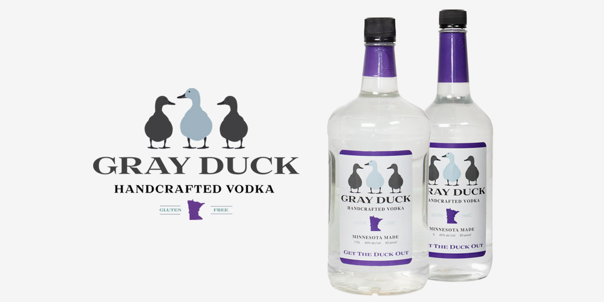 Gray Duck Handcrafted Vodka